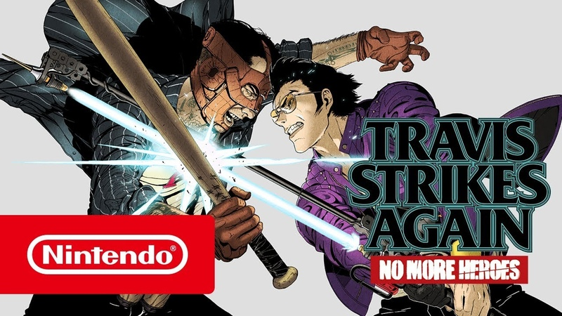 Travis Strikes Again No More Heroes — релизный трейлер (Nintendo Switch)