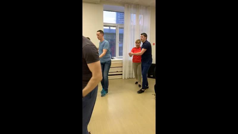 Сальса касино Продолжающие@Salsa Cubana Novosibirsk