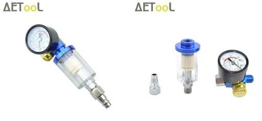 Фильтр-влагоотделитель с регулятором давления