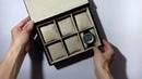 Шкатулка для часов ручной работы. КартонажCasket for watches handmade. Cartonage