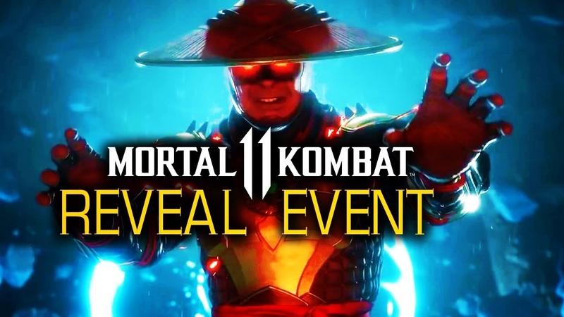 FULL Mortal Kombat 11 Official Gameplay Reveal Event NetherRealm Studios