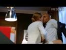 Страстный поцелуй Екатерины Вилковой