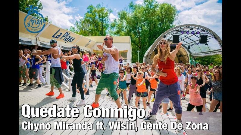 QUEDATE CONMIGO | Chyno Miranda ft. Wisin, Gente De Zona | Kasia Gnich Stefan Jakóbczyk | Zumba