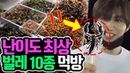 [UNB] MUKBANG FROM THE HELL! From Scorpions to Cicadas??! Brave Idols Eat Insects