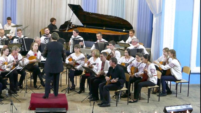 Оркестр народних інструментів Криворізького обласного музичного коледжу.А. Пьяццолла Медитанго