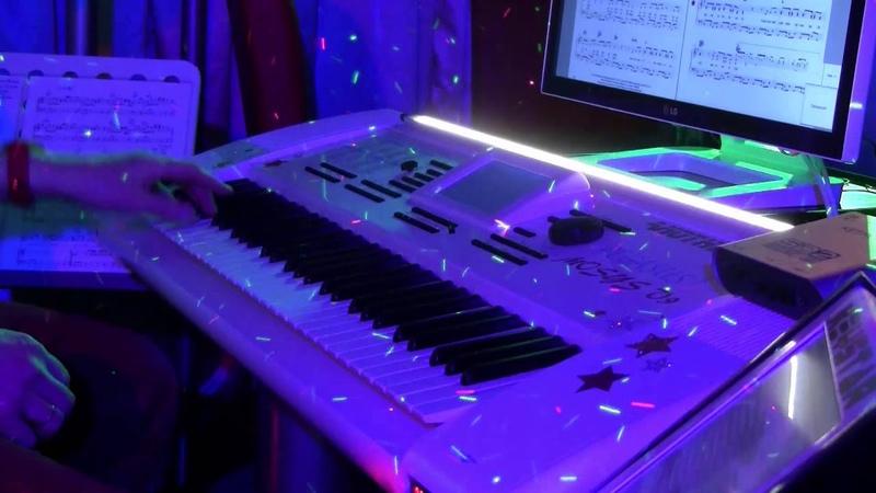 Andrea Berg - Happy Dancing Music on Wersi Pegasus 3