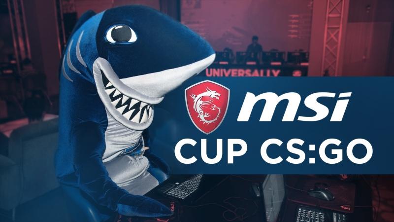 MSI Cup в Cyberspace и интервью с Акулычем!