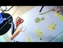 Онлайн Мастер Класс Как изготовить герберу из фоамирана