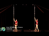 Анна ПЕРМИНОВА и Полина КОВАЛЕВА (Общий план) Pole Artistic Дуэт II Место 2018 Другие Танцы Весна