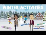 Winter Activities Daily English Conversation Common Daily Expressions