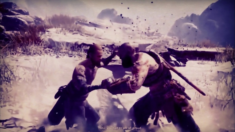 Kratos vs The Stranger GOD OF WAR GMV