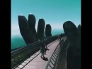 Золотой мост на Бана Хиллс Вьетнам