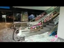 Водитель BMW 5-й серии разгромил вокзал «Нурлы жол» в Астане