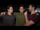 Teen Wolf season 3 set / Tyler Posey Dylan O'Brien reads fan letters