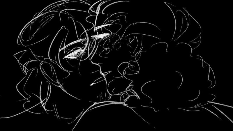 Senpai Lams Hamilton animatic flashing lights