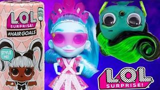 #MAKEOVER! ХОЧУ БЫТЬ КАК СЕСТРА! LOL Surprise Dolls #Hairgoals КУКЛЫ ЛОЛ 5 СЕРИЯ
