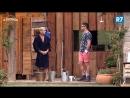 Marcelo e Yuri tentam descobrir quem fez xixi fora do banheiro na festa