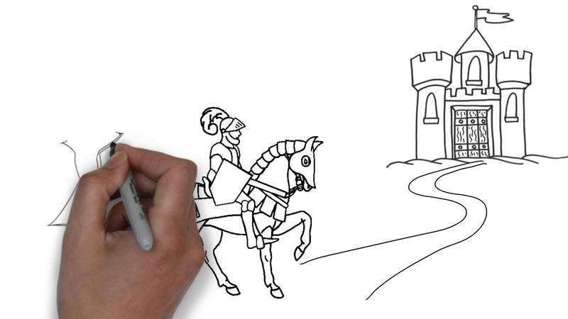 Молитва рыцаря Рисованное видео