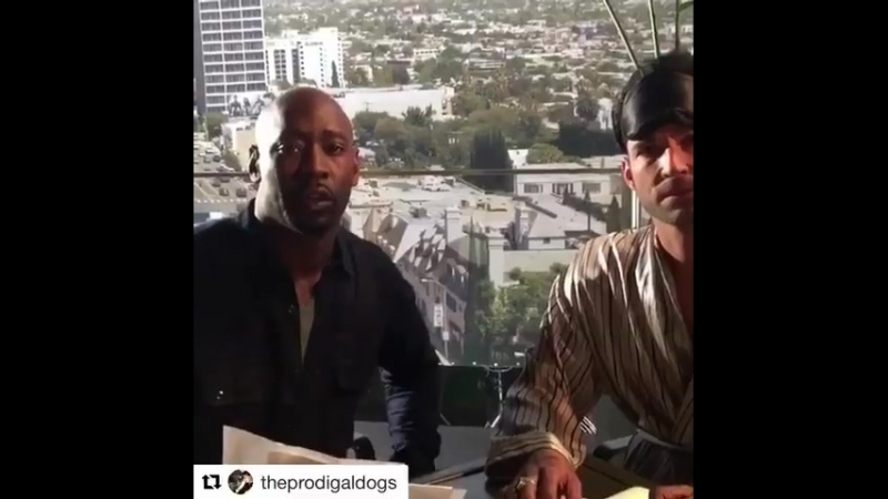 DBWoodside TomEllis BTS TheAngelOfSanBernardino Lucifer ep tonight It's BRILLIANT It ROCKS RenewLucifer @FOXTV @dbwoffici