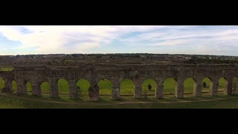 Parco degli acquedotti - Appio Claudio - Drone
