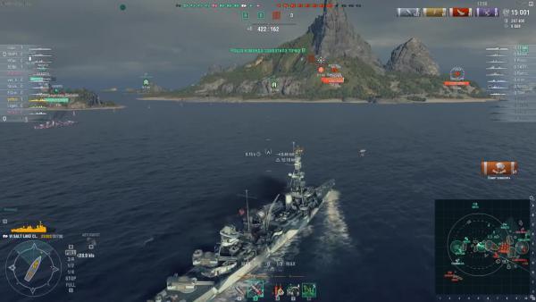 World of Warships Крейсер Pensacola что с тобой стало