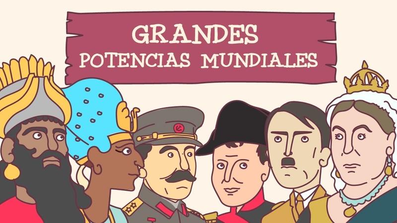 Las grandes potencias mundiales a lo largo de la historia