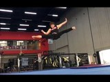 JACKIE CHAN STUNT TRAINING CENTER - ANDY LE TRAINING
