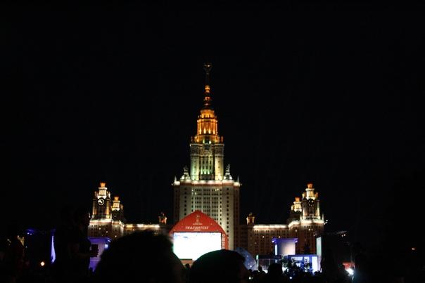 Впервые близко к МГУ, да и вообще я впервые на Воробьёвых.  23 июня 2018