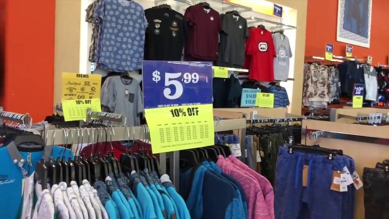 VLOG27 Цены на одежду в Америке. Магазин FALLAS. Одеваем голого человека с ног до головы!