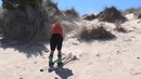Sand Skiing in Oregon with LINE Traveling Circus