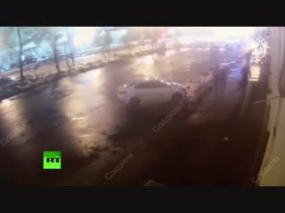 Массовая драка узбеков в Москве