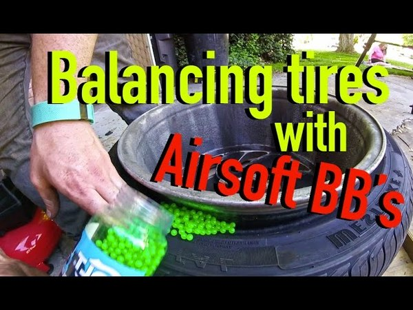 How to Balance Tires with Airsoft BBs - Dirtcheapdaily Ep.7