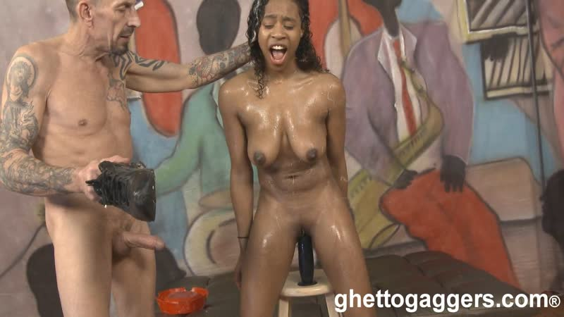 Ivy Young 2 [Gagging, GhettoGaggers, Humiliation, Deepthroat, Rough, Domination, Facial, Puke, Vomit, Hardcore, Facial]