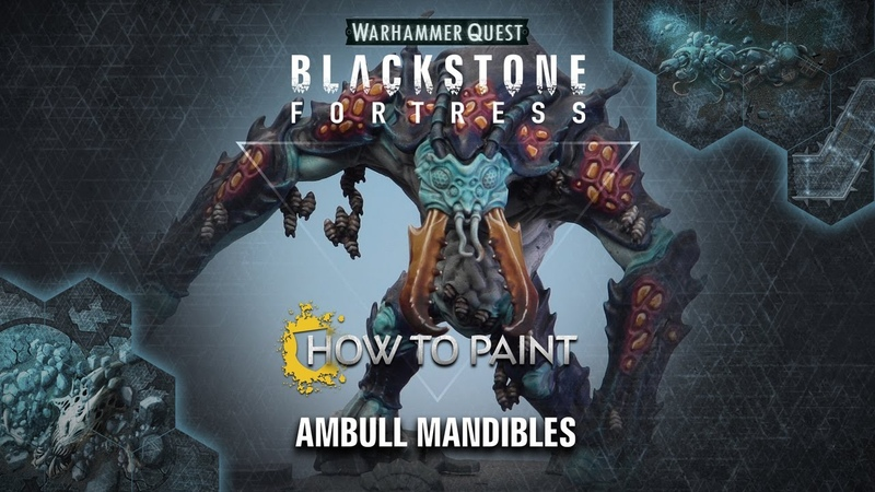 How to Paint Ambull Mandibles