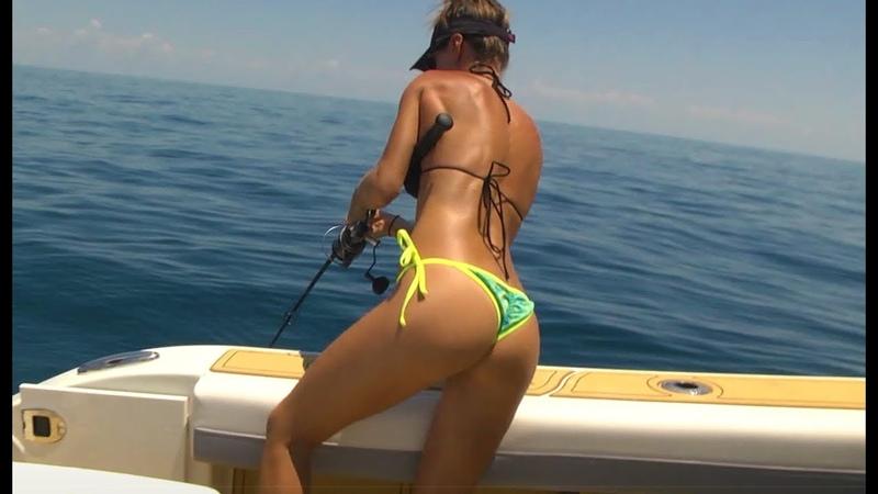 Luiza Catching MONSTER HOGFISH, Snapper and grouper » Freewka.com - Смотреть онлайн в хорощем качестве