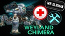 War Robots Weyland doctor and Chimera Вейланд робот который лечит