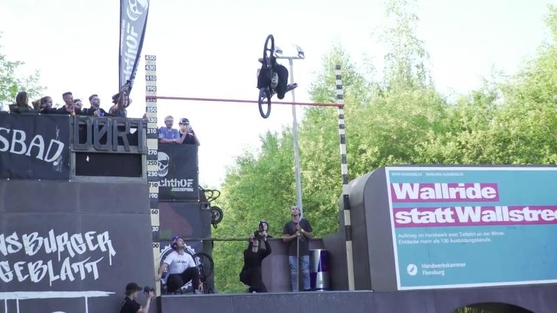 James Jones BMX 4 метра флэир flair