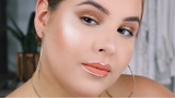 Bronze Glowy and Metallic Lip Liner Makeup Tutorial Nelly Toledo