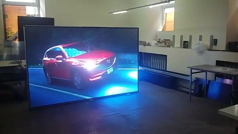 Видео экран 2,5*1,6м