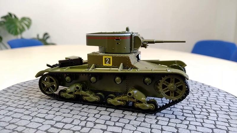 Наши танки №5 - Т-26 от Modimio