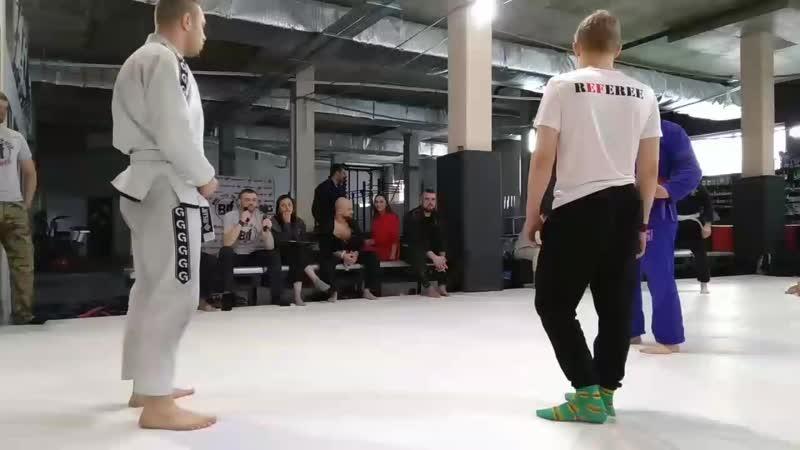 WBT Федцов 1ая схватка