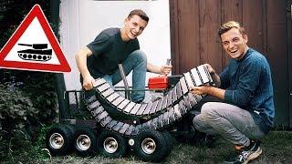 Wir bauen einen PANZER aus unserem BOLLERWAGEN 1