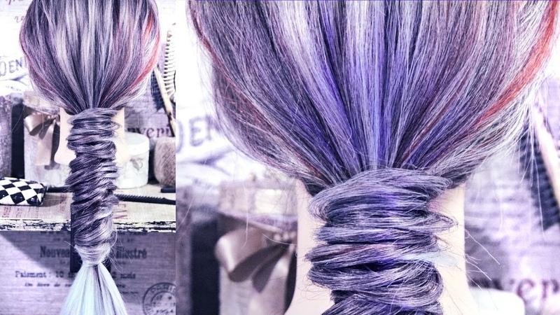 Круглая коса Hairstyles by REM Copyright ©
