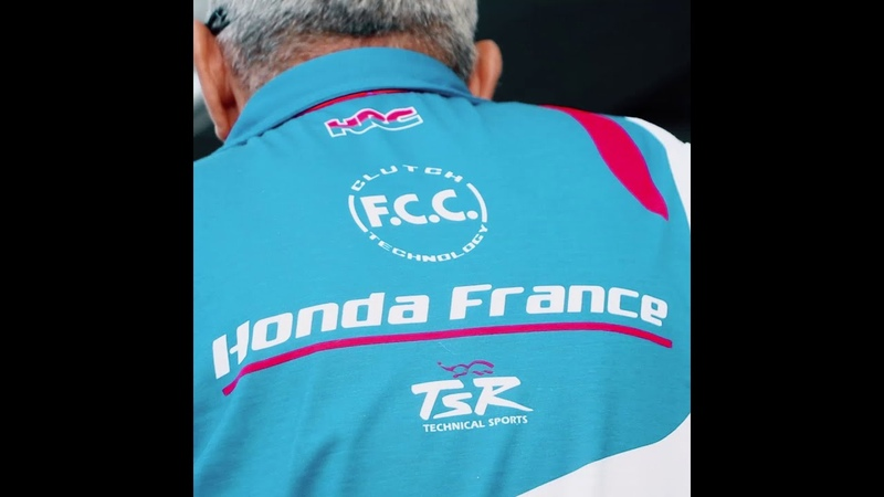 F.C.C. TSR Honda France - essais Bol d'Or 2018
