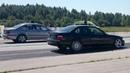 BMW 540i E39 4.4TT 2xHX35 vs BMW E36 3.0t 2JZ-GTE 1/4 mile drag race