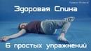 Устраняем боли в спине упражнения для лечения боли