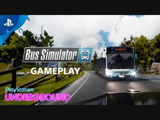 Bus Simulator - Gameplay PlayStation Underground