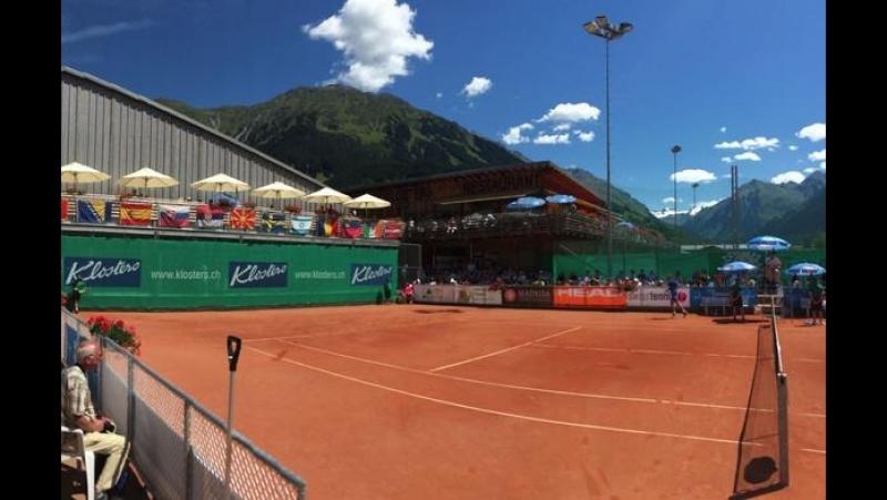 LIVE: 13:00 Теннис. ITF Women's Open Klosters. Леони Кунг - Симона Вальтерт (с комментариями на русском языке)