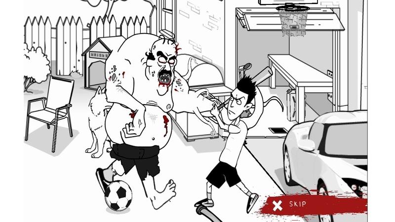 СОСЕД СТАЛ ЗОМБИ игра Whack Your Zombie Neighbour game