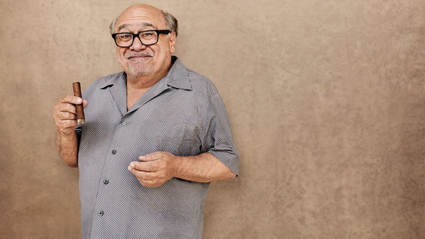 Danny DeVito Cigar Aficionado magazine, 2018